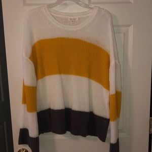 Ultra Flirt Striped Sweater